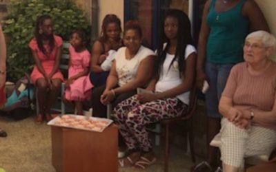 Accueil d'une jeune Ivoirienne