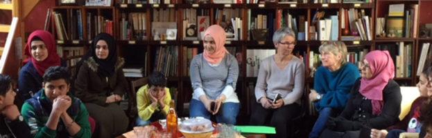 Accueil des premières familles Syriennes